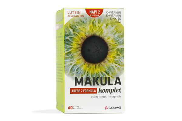 Makula komplex aredS2 formula
